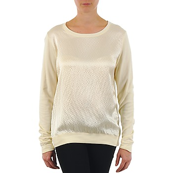 Clothing Women Long sleeved tee-shirts Majestic 237 Ecru