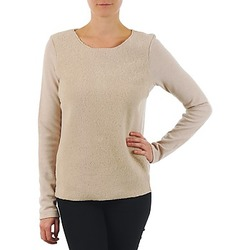 Clothing Women jumpers Majestic 240 Beige
