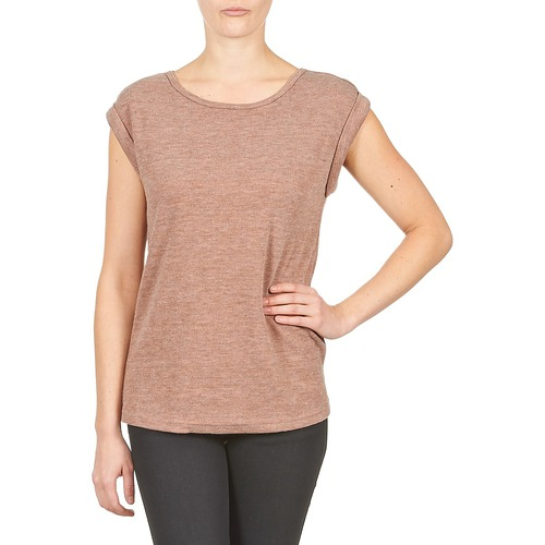 Clothing Women Short-sleeved t-shirts Color Block 3203417 Old / Pink / Mottled / Grey