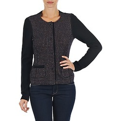 Clothing Women Jackets / Cardigans Marc O'Polo FANNIE Black