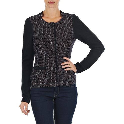 Clothing Women Jackets / Cardigans Marc O'Polo FANNIE Black