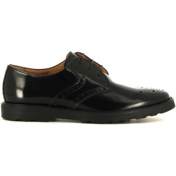 Shoes Men Derby Shoes Soldini 19111 1 Lace-up heels Man Nero