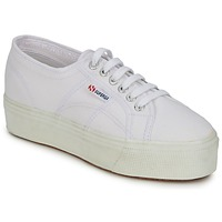 Shoes Women Low top trainers Superga 2790 LINEA UP AND White