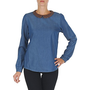 Clothing Women Tops / Blouses Tommy Hilfiger DENIM CHRISTY ROSEVILLE Blue