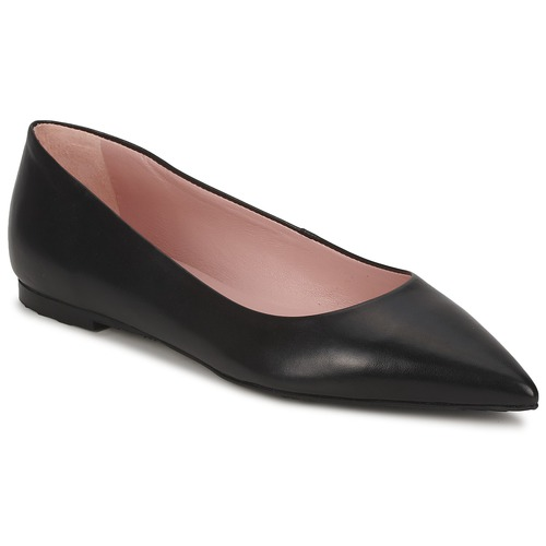 Shoes Women Flat shoes Pretty Ballerinas KATUS Black