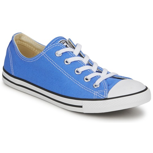 Shoes Women Low top trainers Converse ALL STAR DAINTY OX Blue