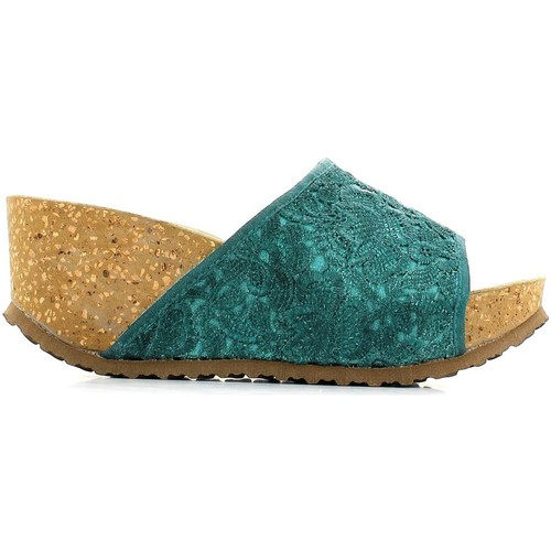 Shoes Women Mules Veronica S. Veronica s. 818453 Sandals Women Turquoise Turquoise