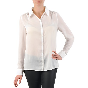 Clothing Women Shirts La City OCHEM White