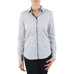 Clothing Women Shirts La City OCHEMBLEU Grey