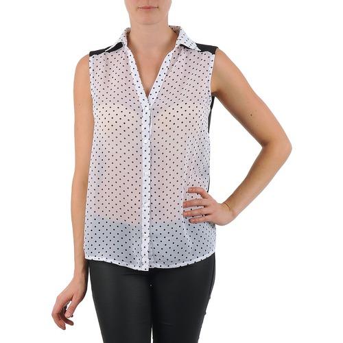 Clothing Women Shirts La City O DEB POIS White