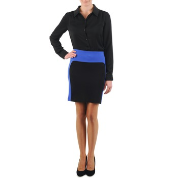 Clothing Women Skirts La City JMILBLEU Black / Blue