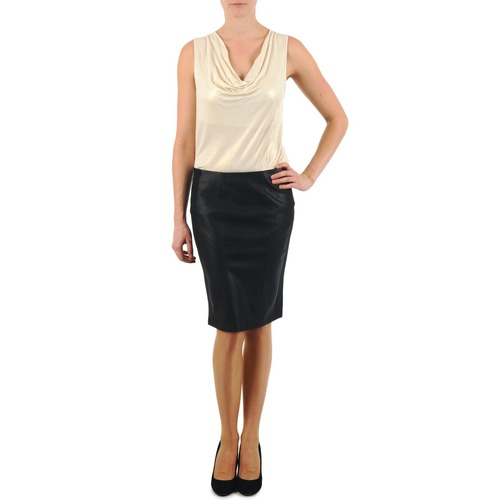 Clothing Women Skirts La City JUPE BIMAT Black