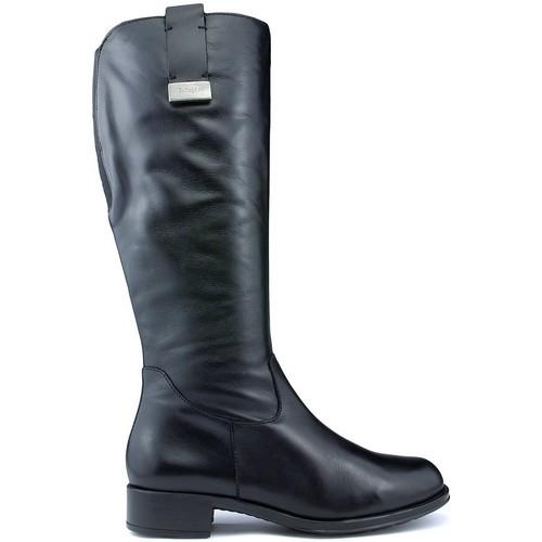 Shoes Women High boots CallagHan Boots  BOND RIDE BLACK