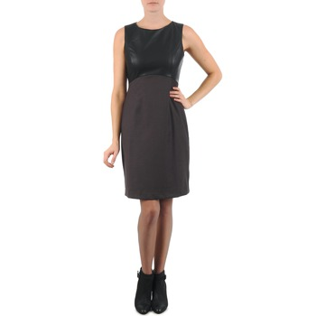 Clothing Women Short Dresses La City RTANIA Black / Grey