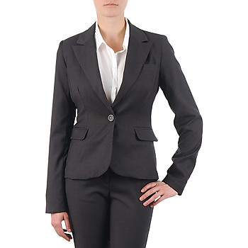 Clothing Women Jackets / Blazers La City VTANIA Grey