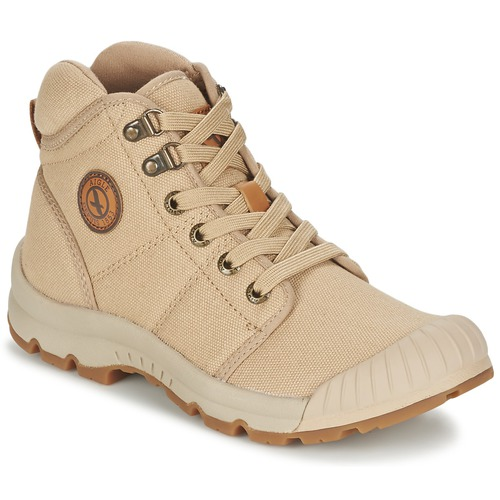 Shoes Women Hi top trainers Aigle TENERE LIGHT Beige