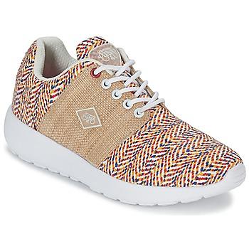Shoes Women Low top trainers Le Temps des Cerises FLY Multicoloured