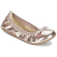 Shoes Girl Flat shoes Le Temps des Cerises LILOU Gold