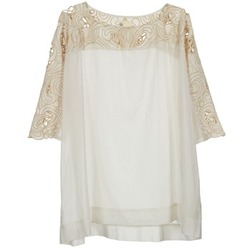 Clothing Women Tops / Blouses Stella Forest ATU030 Beige