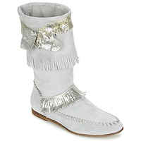 Shoes Women High boots Now MATELI Grey / Silver