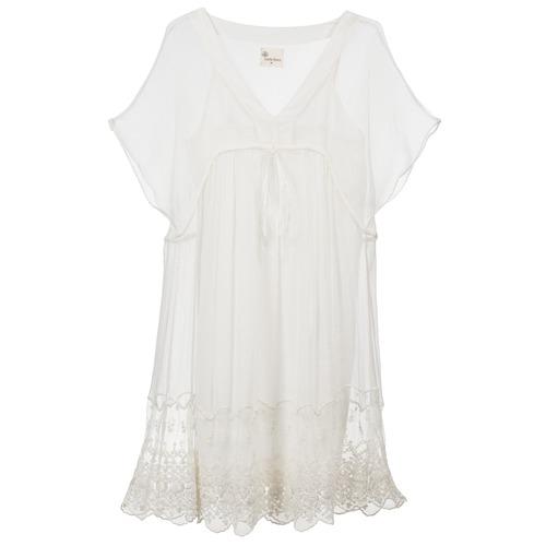 Clothing Women Short Dresses Stella Forest ARO035 Ecru