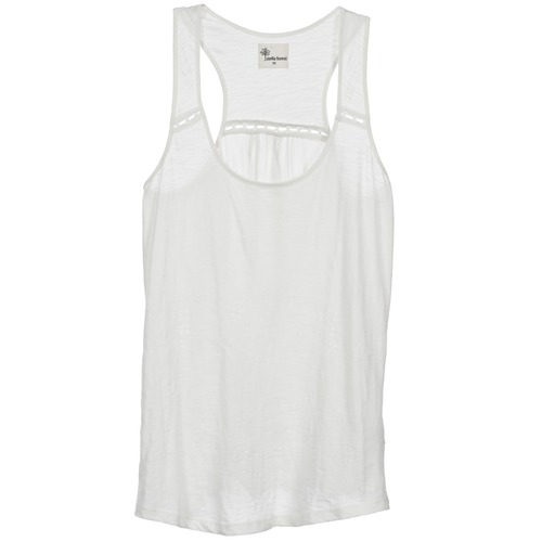 Clothing Women Tops / Sleeveless T-shirts Stella Forest ADE005 White