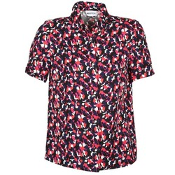 Clothing Women short-sleeved shirts American Retro NEOSHIRT Black / Pink / Orange