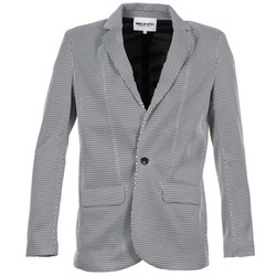 Clothing Women Jackets / Blazers American Retro JACKYLO White / Black