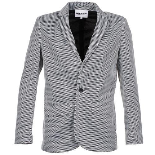 Clothing Women Jackets / Blazers American Retro JACKYLO White / Black