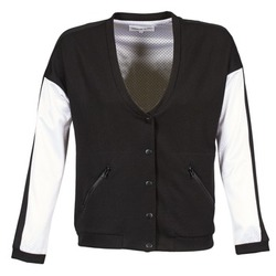 Clothing Women Jackets American Retro CHARONNE Black / White