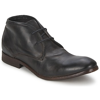 Shoes Men Mid boots Hudson CRUISE Black