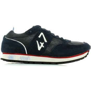 Shoes Men Low top trainers Wrangler WM141151 Sneakers Man Navy Navy
