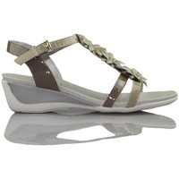 Sandals CallagHan Patent leather sandal flower