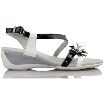 Sandals CallagHan patent leather wedge sandal