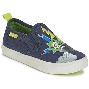 Shoes Boy Slip ons Geox KIWI B. D Multicoloured