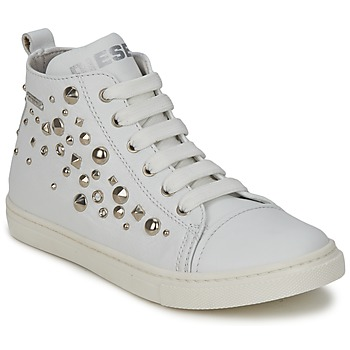 Shoes Children Hi top trainers Diesel VAR2 White