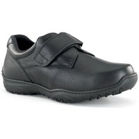 Shoes Men Derby Shoes Calzamedi wide velcro shoe 20 BLACK