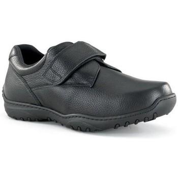 Shoes Men Derby Shoes Calzamedi wide velcro shoe 20 BLACK