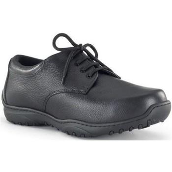 Shoes Men Brogues Calzamedi orthopedic width 20 BLACK