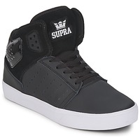 Shoes Men Hi top trainers Supra ATOM BLACK-WHITE
