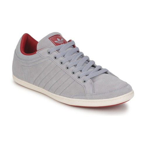 Shoes Men Low top trainers adidas Originals Plimcana Clean Low Grey / Red