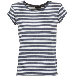 Clothing Women short-sleeved t-shirts Tommy Jeans AMELIE Marine / White