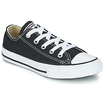 Shoes Children Low top trainers Converse ALL STAR OX Black