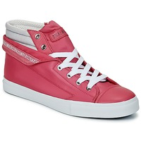 Shoes Women Hi top trainers Bikkembergs PLUS 647 Pink / Grey