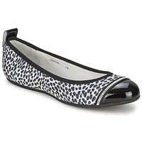 Shoes Women Flat shoes Bikkembergs BASAR 910 White /  BLACK