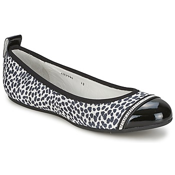 Shoes Women Flat shoes Bikkembergs BASAR 910 Black / White