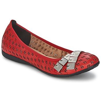 Shoes Women Flat shoes Un Matin d'Ete DISTRICTY Red