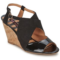Shoes Women Sandals Chocolate Schubar ELVINA  BLACK
