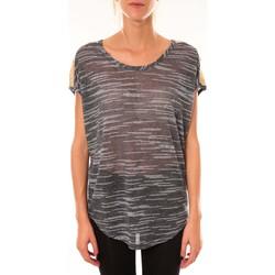 Clothing Women Tops / Blouses Dress Code Top à sequins R5523 marine Blue