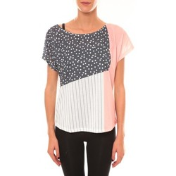 Clothing Women short-sleeved t-shirts Coquelicot Top 15403/001 blanc White